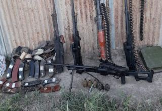 Munitions found in Azerbaijan's Khojavand district