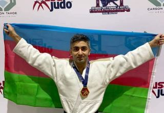 Azerbaijani grabs gold at 2021 US Judo Senior National Championships (PHOTO)