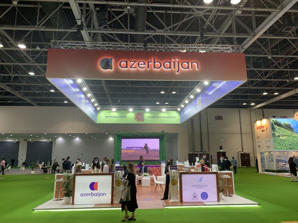 Tourism potential of Azerbaijan's liberated Shusha at int'l exhibition in Dubai (PHOTO) - Gallery Image
