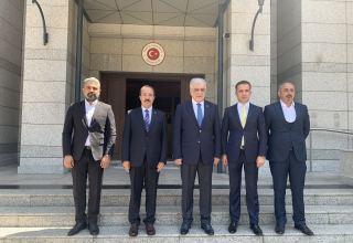 Turkish ambassador meets with head of Turkey-Azerbaijan Interparliamentary Friendship Group (PHOTO)