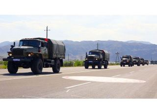 Command-staff exercises start in Azerbaijan's Nakhchivan garrison (PHOTO/VIDEO)