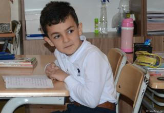 Azerbaijan partially resumes full-time lessons at schools in several cities and districts (PHOTO)