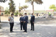 Xaçmaz rayonunda Zəfər parkı inşa edilir (FOTO) - Gallery Thumbnail