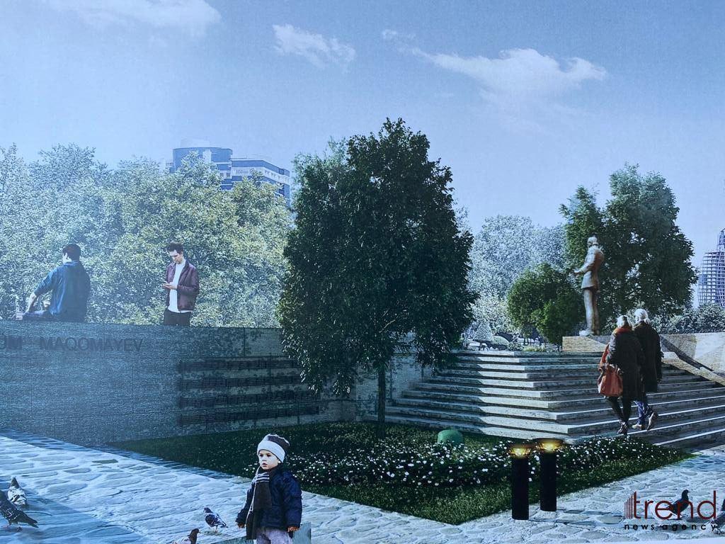Бронзовый памятник Муслиму Магомаеву будет готов через месяц – Trend TV - Gallery Image
