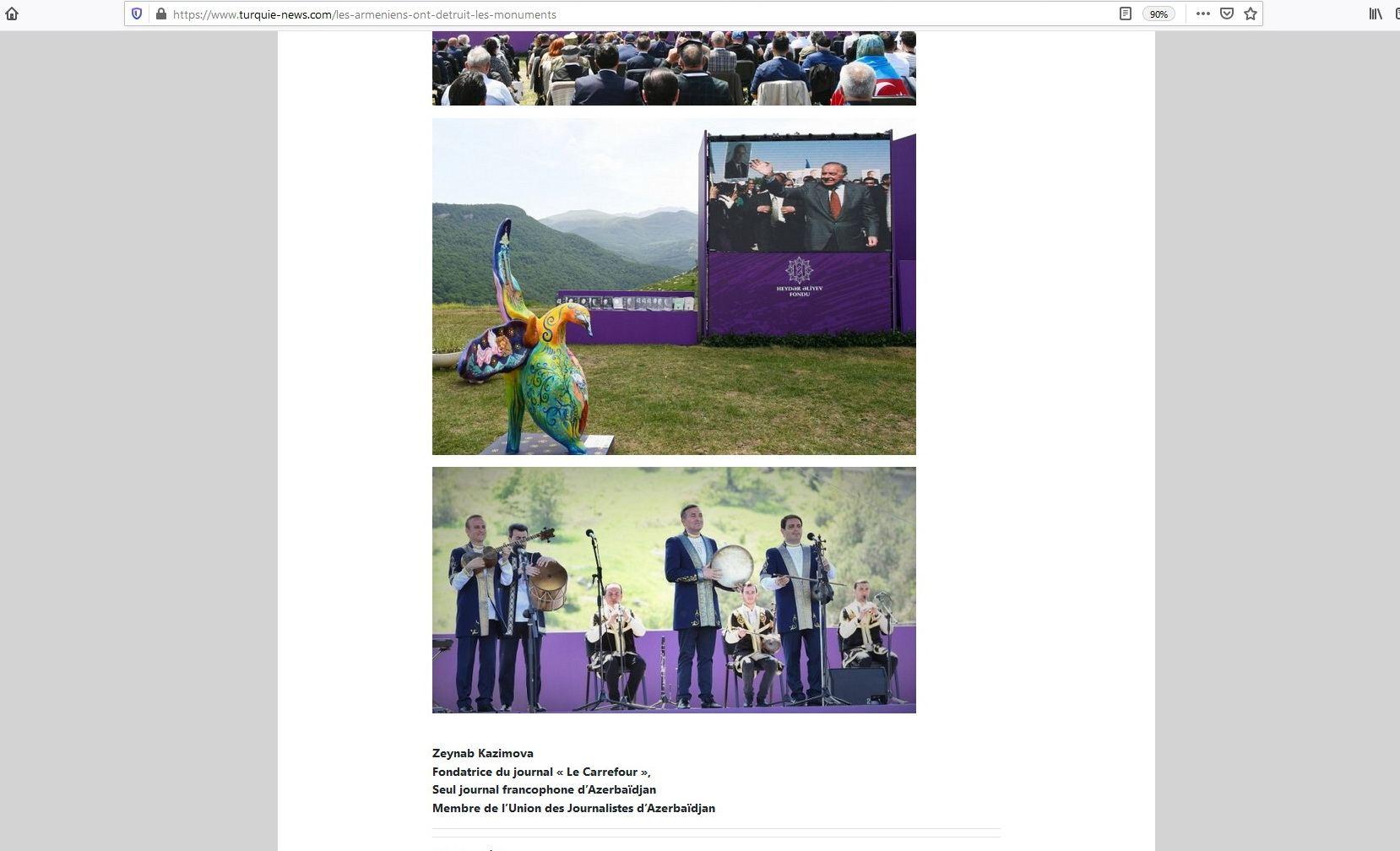 """Azərbaycanlı jurnalist Fransa portalında """"Xarıbülbül"""" festivalından yazıb (FOTO) - Gallery Image"""