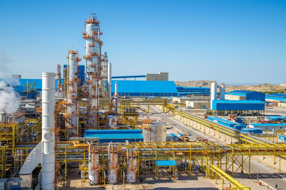 Iran's Shahid Tondgooyan Petrochemical Company shares production data