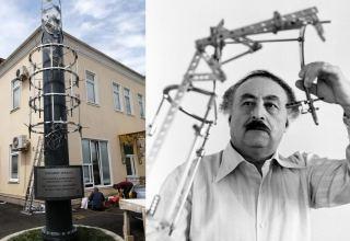 В Гусары установлен оригинальный памятник аппарату Илизарова весом в 2 тонны (ФОТО)