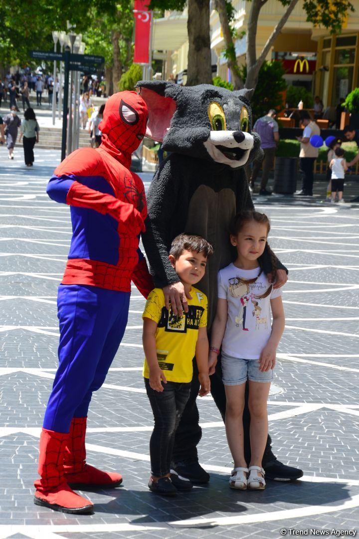 В Баку празднуют день детей (ФОТО) - Gallery Image