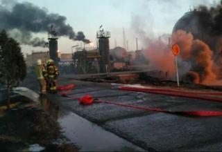 НПЗ в Тегеране возобновил производство после пожара