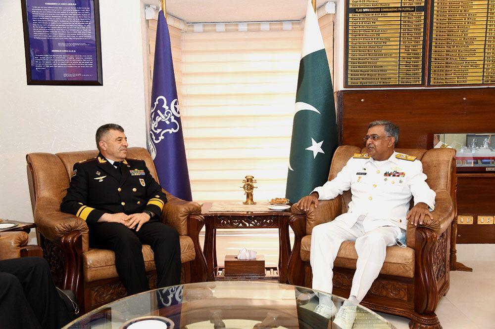 Делегация ВМС Азербайджана провела ряд встреч в Пакистане (ФОТО) - Gallery Image