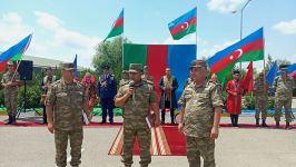 Raket və Artilleriya Qoşunlarının hərbi hissəsində tədbir keçirilib (FOTO) - Gallery Thumbnail