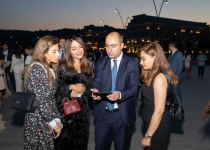 """""""Reduce, Reuse, Recycle, Respect"""" exhibition by NARGIS Publishing house is open on the Baku Boulevard (PHOTO/VIDEO) - Gallery Thumbnail"""