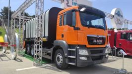 Azerbaijan launches garbage truck production for the first time (PHOTO) - Gallery Thumbnail