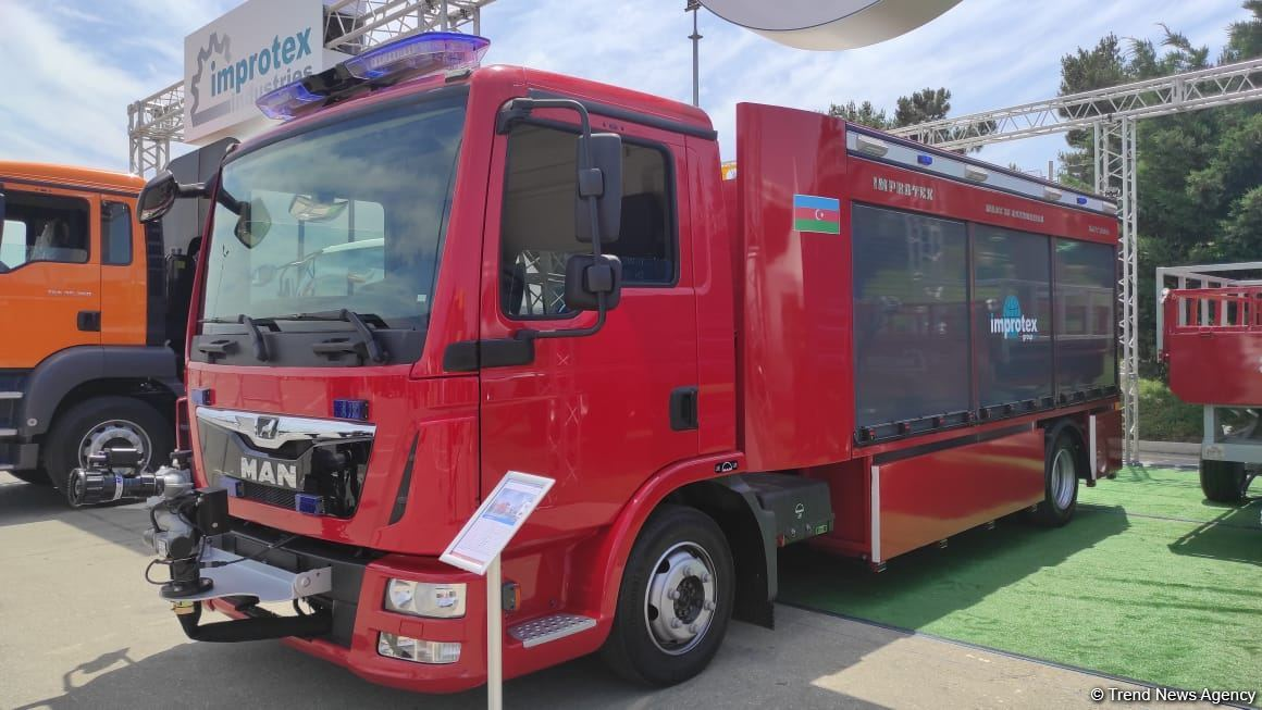 Azerbaijan launches fire truck production for first time (Exclusive) (PHOTO) - Gallery Image