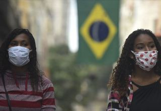 Braziliyada ötən sutka 78 mindən çox koronavirusa yoluxma halı qeydə alınıb