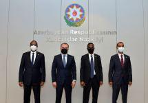 Azerbaijani FM informs ambassador of Somalia about Armenian's atrocities (PHOTO) - Gallery Thumbnail