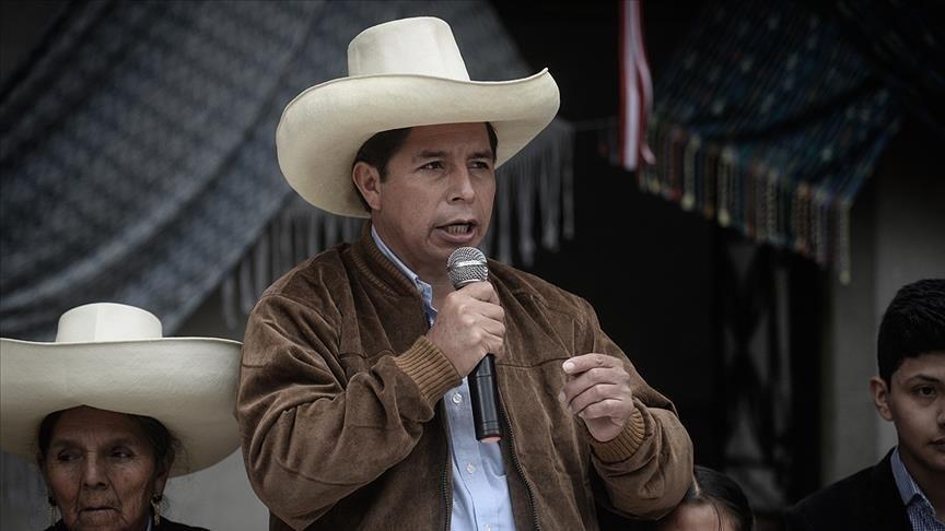 Pedro Kastilyo Perunun yeni prezidenti