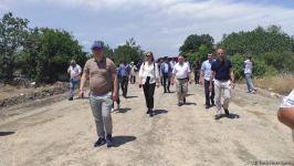 Diplomatik korpus nümayəndələrinin Ağdama səfəri başlayıb (FOTO) - Gallery Thumbnail