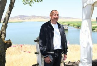 Kondalanchay reservoir is in our hands and this will be case forever - President Aliyev