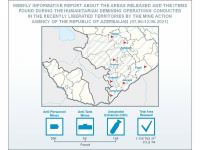 Azerbaijan publishes latest data on mine clearance in liberated lands - Gallery Thumbnail
