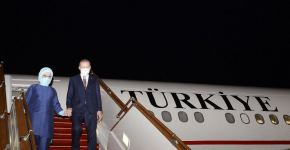 Turkish president arrives in Azerbaijan on official visit (PHOTO) - Gallery Thumbnail