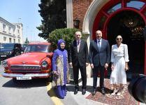 От имени Президента Ильхама Алиева и Первой леди Мехрибан Алиевой дан обед в честь Президента Эрдогана и его супруги (ФОТО) - Gallery Thumbnail