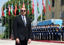 Official welcoming ceremony for Turkish president in Shusha - HISTORIC EVENT (PHOTO) - Gallery Thumbnail