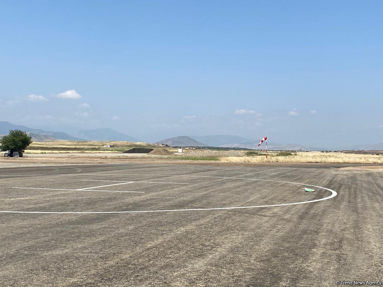 Названа дата первого рейса в международном аэропорту Физули (ФОТО) - Gallery Image