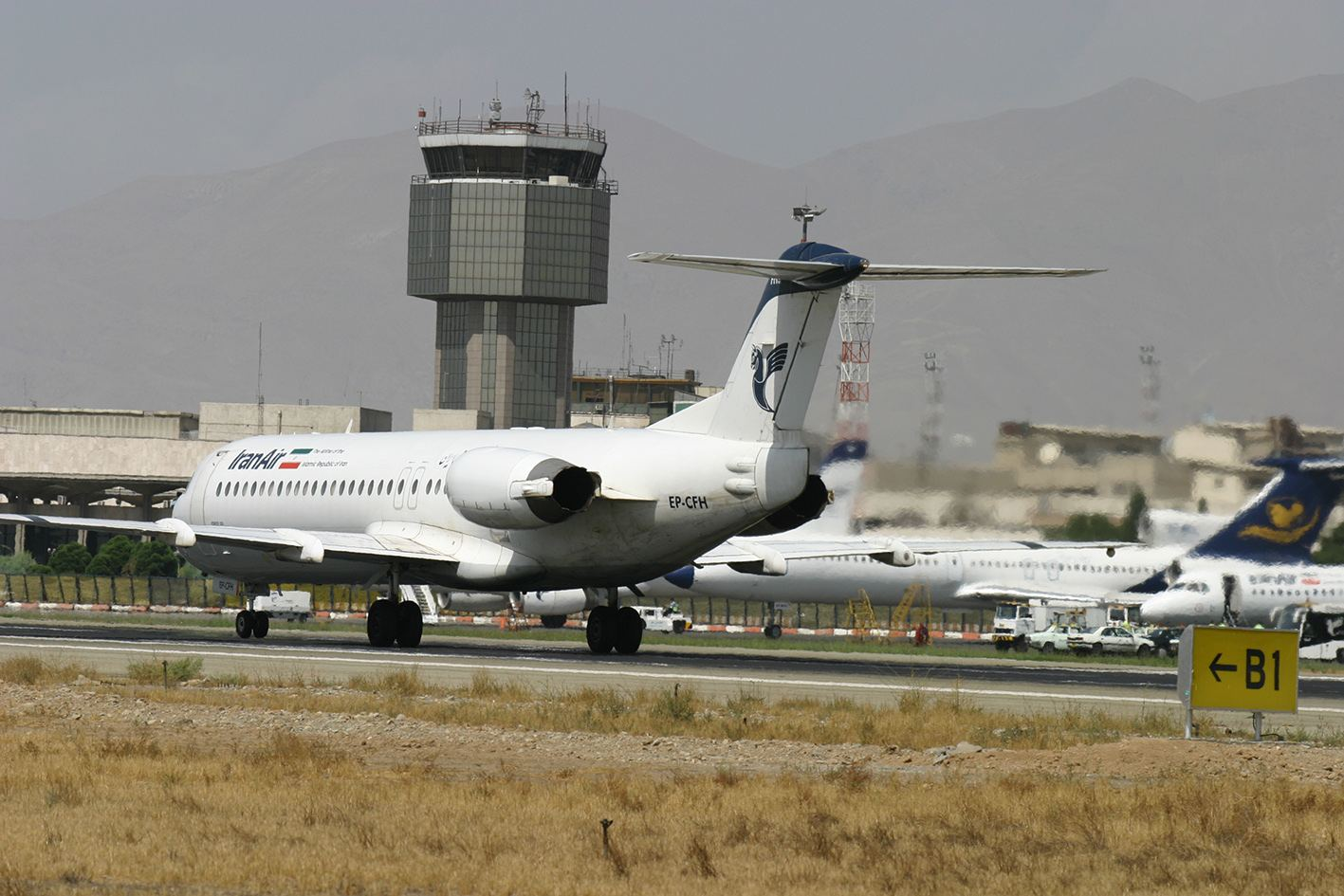 Iran declares details of passenger, cargo transportation through country's airports