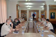 Delegation of NATO Allied Land Command visits Military Academy of Azerbaijani Armed Forces (PHOTO) - Gallery Thumbnail