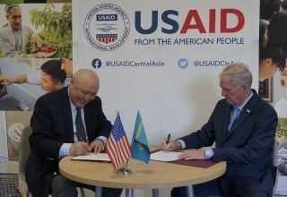 KazAID и USAID подписали меморандум о взаимопонимании по вопросам сотрудничества в сфере официальной помощи развитию