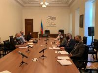 Azerbaijan holds working group meeting on clearing mines, unexploded ordnance in de-occupied lands (PHOTO) - Gallery Thumbnail