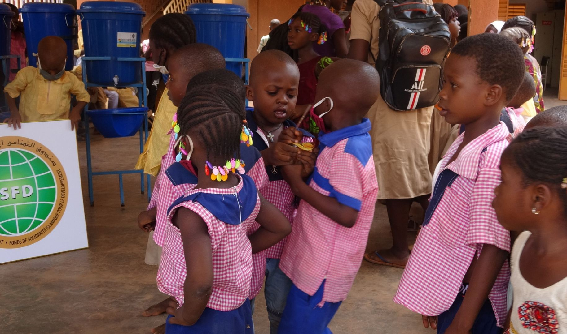 A humanitarian partnership in times of COVID (PHOTO) - Gallery Image