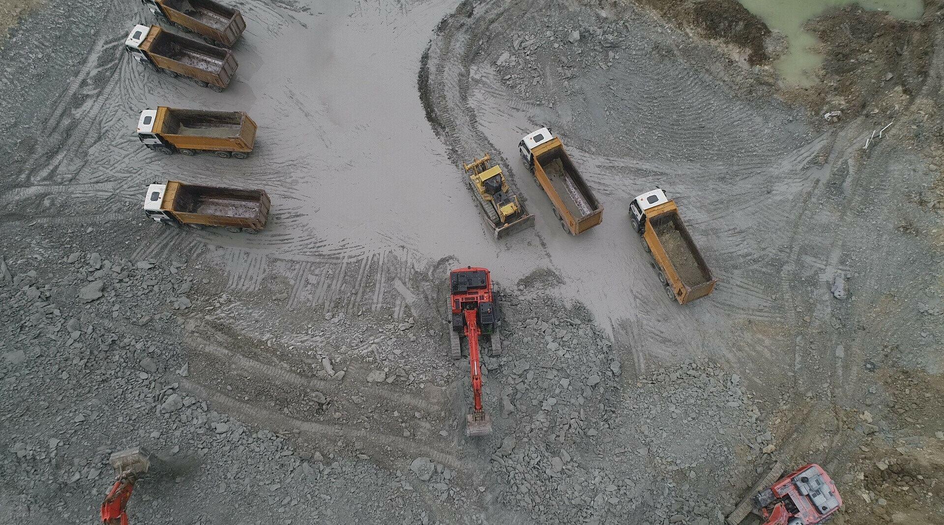 Kanal İstanbul'da temel atma törenine 2 gün kaldı: Son durum havadan görüntülendi - Gallery Image