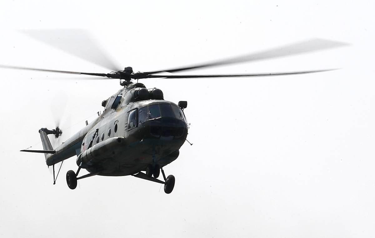 Вертолет Росгвардии разбился под Петербургом