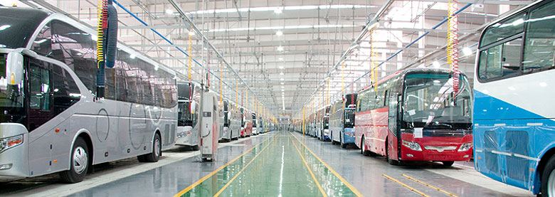 Small-unit production line launched at Yutong bus plant in Kazakhstan