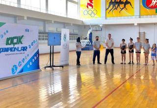 Gimnastların Qaxda ustad dərsləri keçirilib (FOTO)
