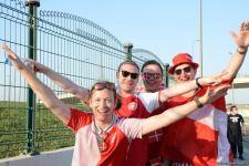 ЕВРО-2020: Болельщики уже на Бакинском Олимпийском стадионе (ФОТО/ВИДЕО) - Gallery Thumbnail