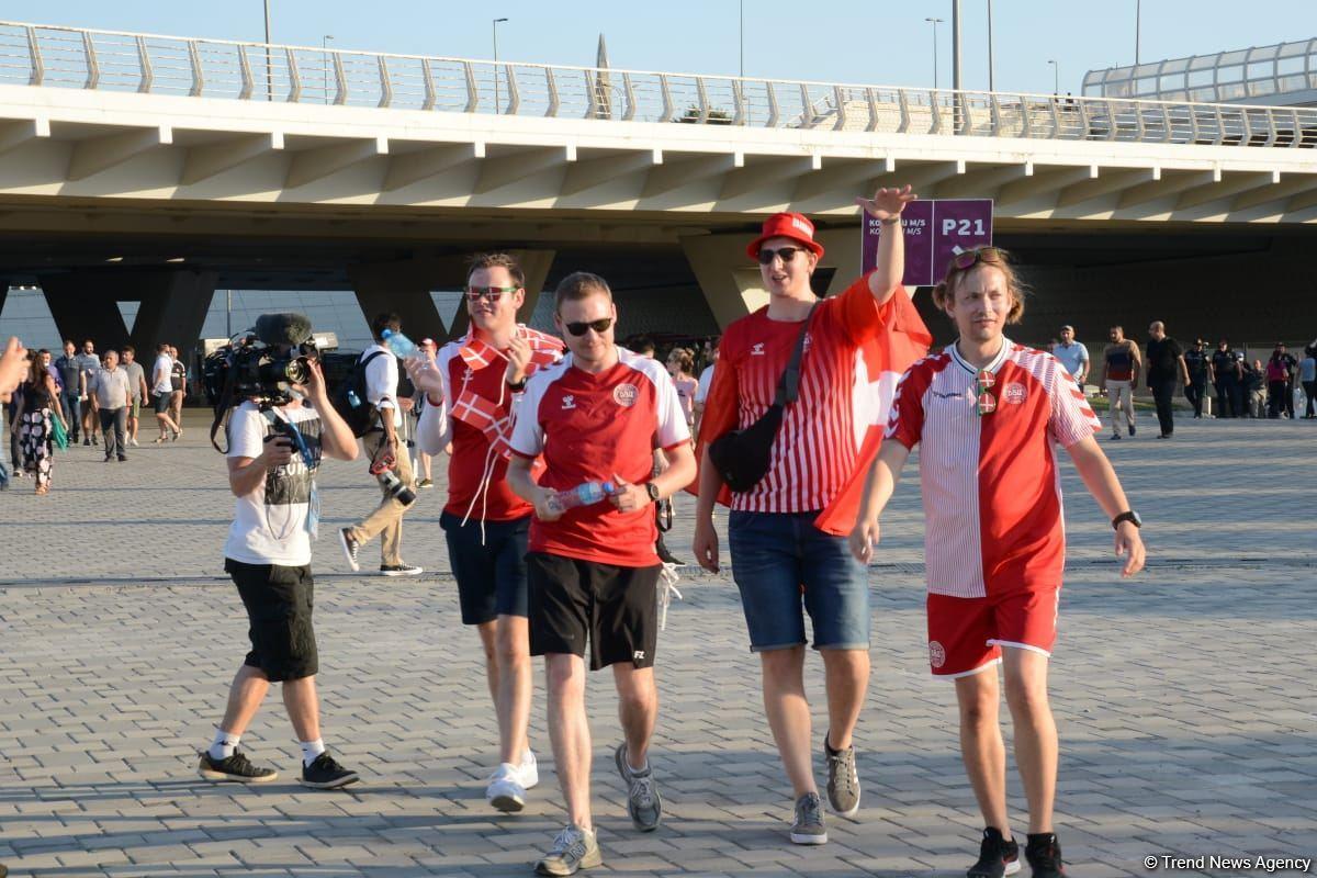 ЕВРО-2020: Болельщики уже на Бакинском Олимпийском стадионе (ФОТО/ВИДЕО) - Gallery Image