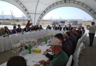В Агдаме прошло совместное заседание рабочих групп Координационного штаба (ФОТО)