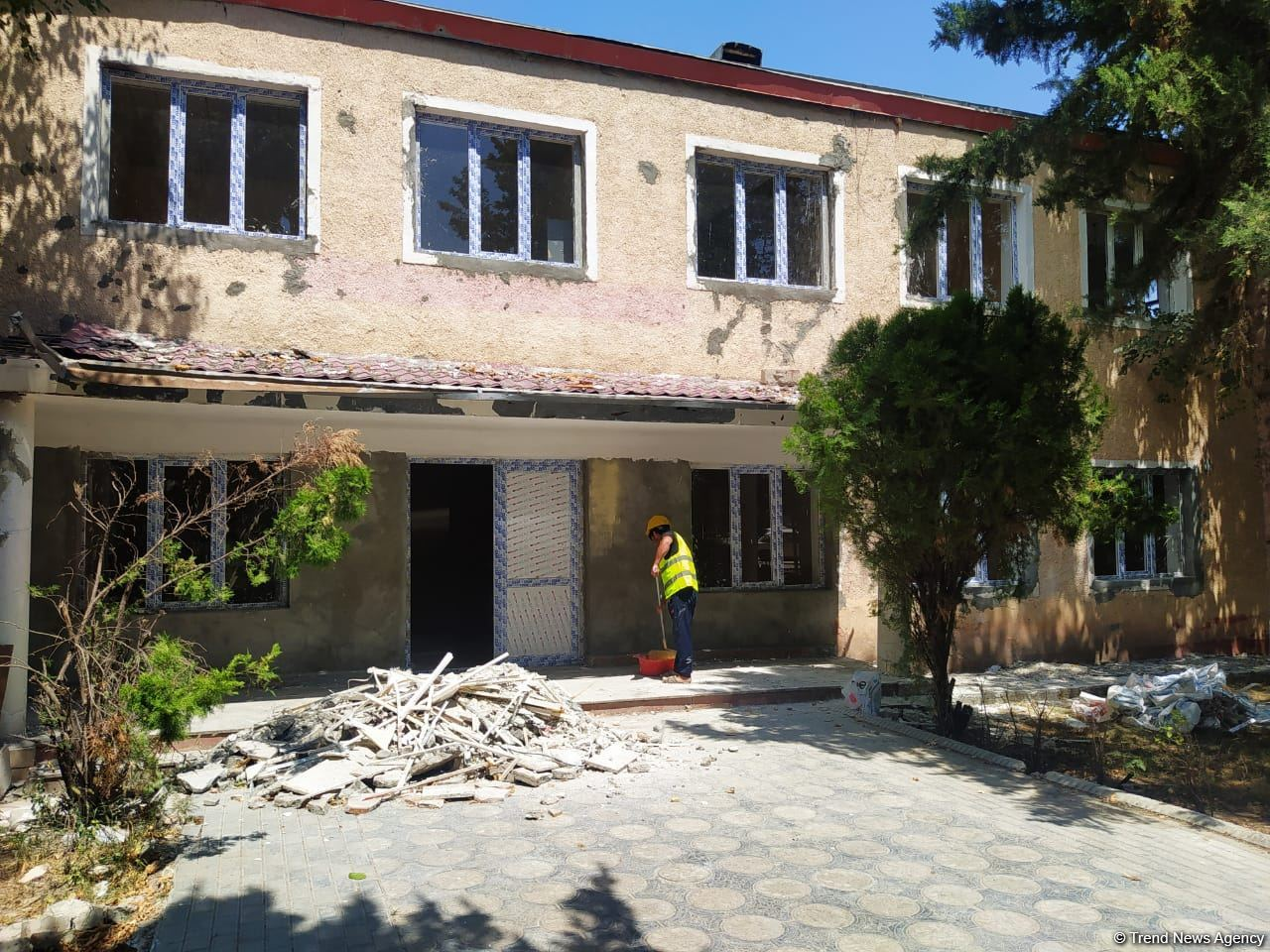 Azerbaijan restores houses in Aghdam destroyed after Armenia's shelling (PHOTO) - Gallery Image