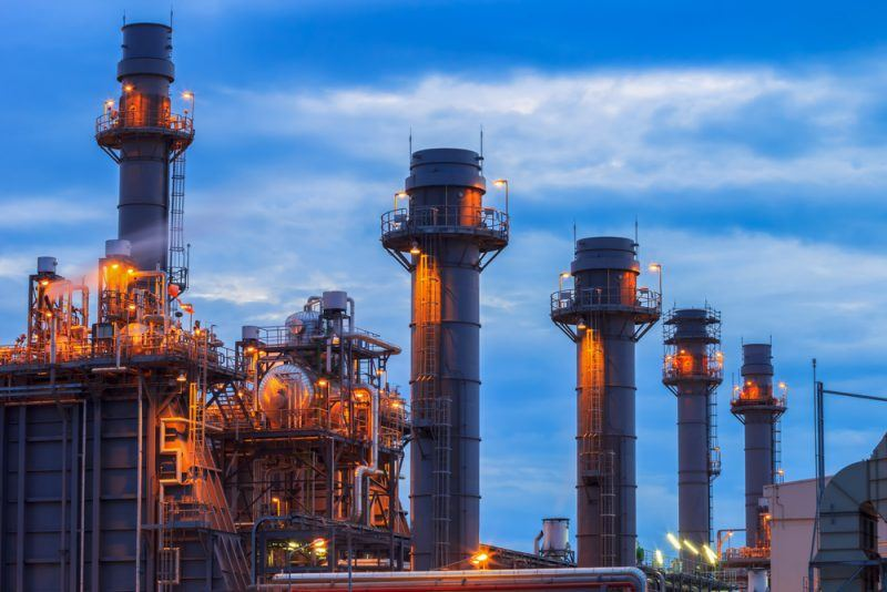 Electricity generation from natural gas drops globally