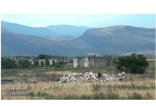 Освобожденное село Гектепе Агдамского района (ВИДЕО)