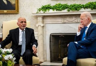 Biden assures Afghan President Ghani of continued U.S. support -White House