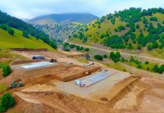 Azerbaijan launches large-scale construction work of Toganali-Kalbajar-Istisu highway (PHOTO)