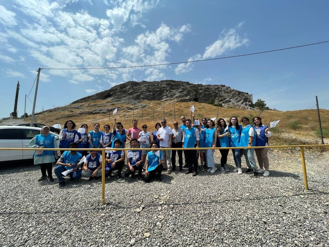 Награбленное Разиным богатство спрятано в Баку? Таинственная история горы Кюхлю и экологический туризм (ФОТО) - Gallery Image