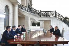 Prezident İlham Əliyev Serbiyanın xarici işlər nazirinin başçılıq etdiyi nümayəndə heyətini qəbul edib (FOTO)(YENİLƏNİB) - Gallery Thumbnail