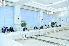 Спикер парламента Азербайджана встретилась с делегацией правящей партии Турции (ФОТО) - Gallery Thumbnail