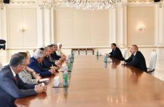 Azerbaijani president receives delegation led by Turkish Grand National Assembly chairman (PHOTO) - Gallery Thumbnail