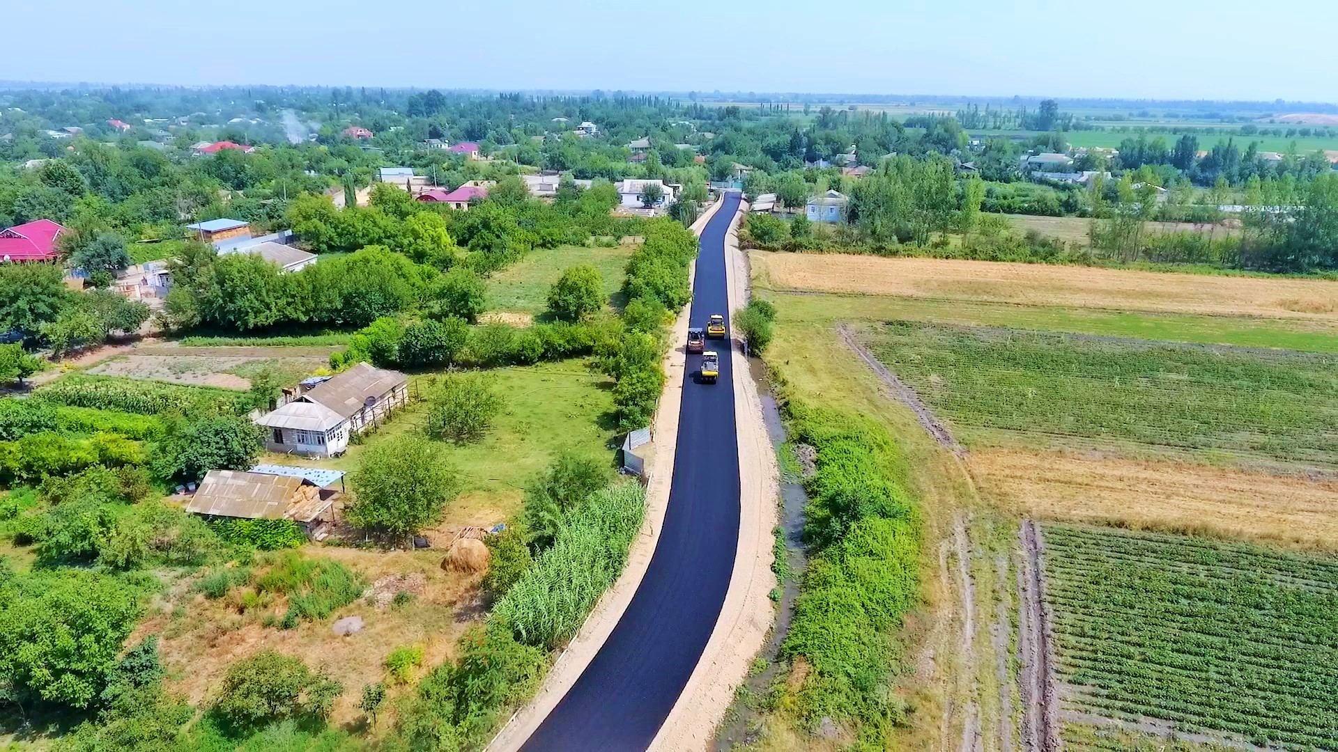 В Тертерском районе завершается реконструкция автодороги, соединяющей 5 населенных пунктов (ФОТО) - Gallery Image
